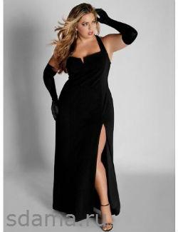 Платья для полных мода 2013