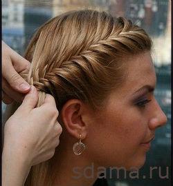 Французская коса Как заплести французскую косу