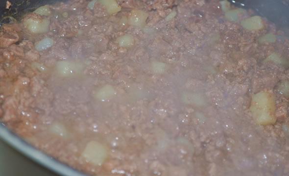 Картошка с мясом фото