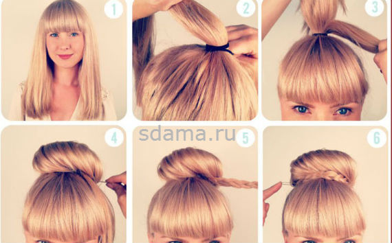 Красивые причёски на 1 сентября на длинные волосы - 04f92