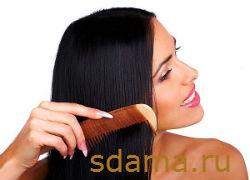 Правильный уход за длинными волосами