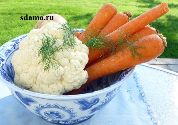 суп-морковный-