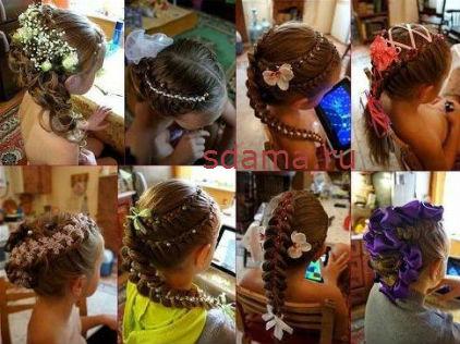 Видео как плетут красивые косы