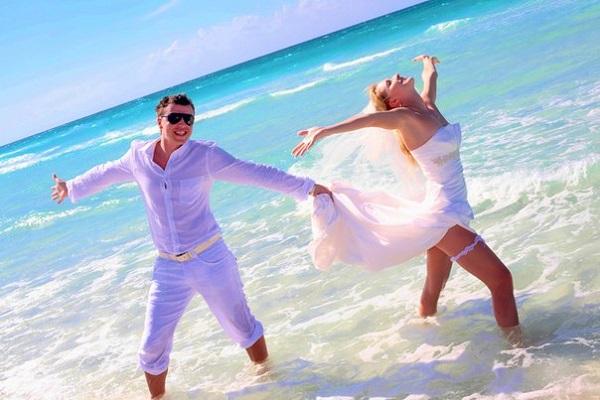 за границей свадьба