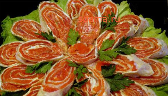 Блюда из лаваша