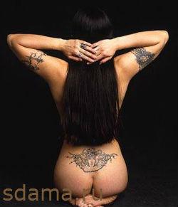 Сексуальные татуировки на женских телах