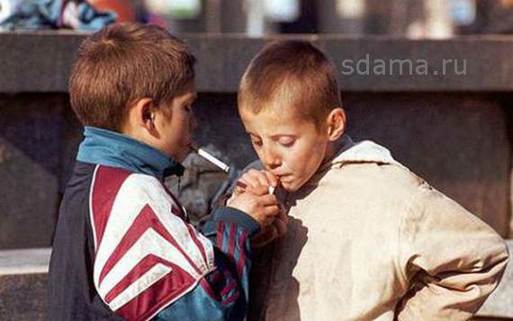 О вреде курения для школьников