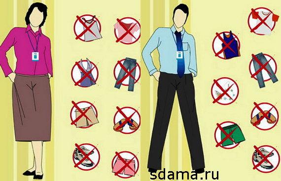 Дресс-код одежда