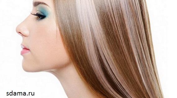 О мелировании волос