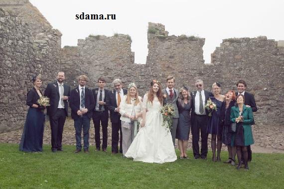 свадьбу в узком кругу