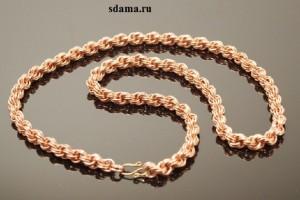 Золотые цепочки украшения