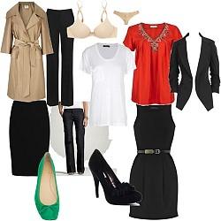женский базовый гардероб
