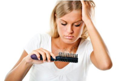 решить проблему выпадения волос