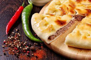 романтический ужин осетинский пирог